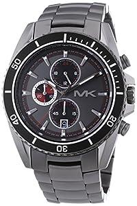Michael Kors Herren-Armbanduhr XL Chronograph Quarz Edelstahl MK8340