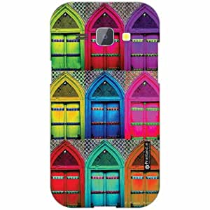 Samsung Galaxy J1 Back Cover - Silicon Color Designer Cases