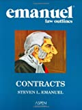 Emanuel Law Outlines: Contracts (0735558175) by Emanuel, Steven