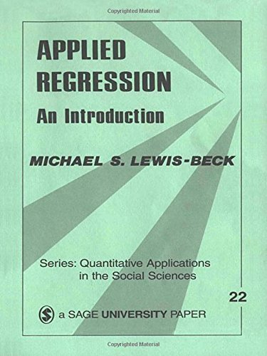 Applied Regression: An Introduction (Quantitative...