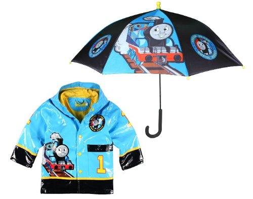 Western Chief Thomas The Tank Raincoat With Umbrella (4/5) front-794907