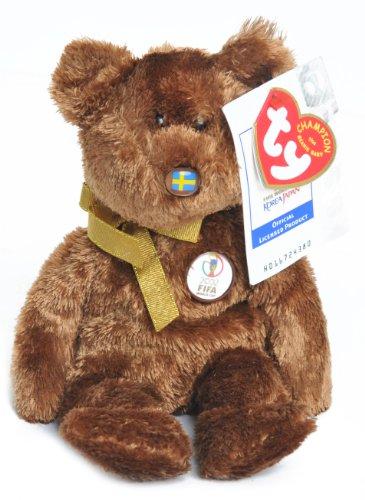 TY Beanie Baby Champion - Sweden Bear [Toy]
