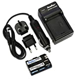 MaximalPower FC500 Travel Charger with Battery for Canon BP-511, EOS 50D, 40D, PowerShot G1, G6 Cameras