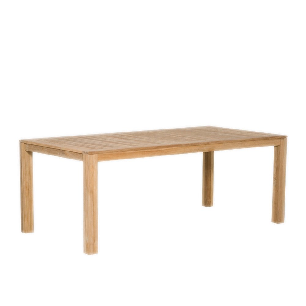 Siena Garden 105294 Tisch Country, 200x100cm Teakholz FSC® Mix 70% Beschläge aus galvanisiertem Stahl