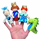 Manhatan Toy A Day at the Castle Finger Puppet Boxed Set