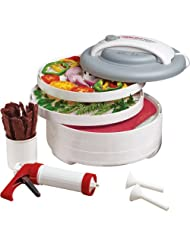 500-Watt Snackmaster Encore Food Dehydrator Jerky Maker All-in-One Kit by 