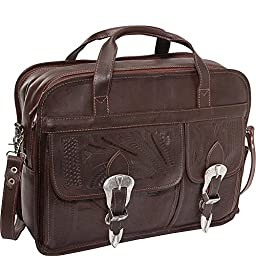 Ropin West Briefcase (Brown)