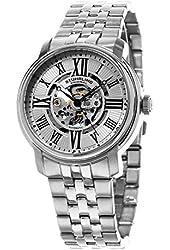Stuhrling Original Men's Skeletonized Automatic Bracelet Watch GP15654