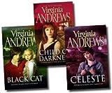 Virginia Andrews Virginia Andrews Gemini Series 3 Books Set Collection Pack (Celeste, Black Cat, Child of Darkness) (Gemini Series)
