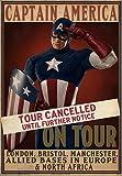 eFx Captain America Tour Cancelled Movie Prop Poster
