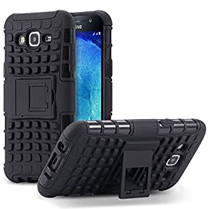 F&S Hybrid Military Grade Armor Kickstand Back Cover for Samsung Galaxy G360