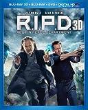 R.I.P.D. (Blu-ray 3D + Blu-ray + DVD + Digital HD UltraViolet)