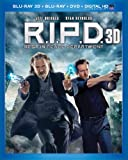 R.I.P.D. (Blu-ray 3D + Blu-ray + DVD + Digital HD UltraViolet)