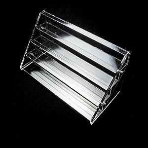 Présentoir support organisateur en acrylique neuf à 4 étages pour vernis à ongle par Curtzy TM