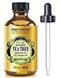 51XxPkN0aBL. SL160  100% Pure Australian Tea Tree Essential Oil with 45% Terpinen 4 ol, 1 fl. oz. A Known Solution to Help in Fighting Acne, Toenail Fungus, Dandruff, Yeast Infections, Cold Sores.. Reviews