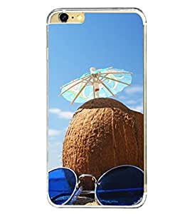 Beach Holidays 2D Hard Polycarbonate Designer Back Case Cover for Apple iPhone 6