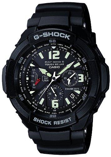 [カシオ]CASIO 腕時計 G-SHOCK ジーショック SKY COCKPIT スカイコックピット タフソーラー 電波時計 MULTIBAND 6 GW-3000BB-1AJF メンズ