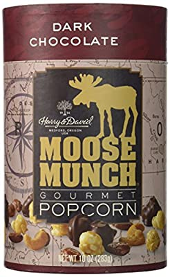 Harry & David, Moose Munch Gourmet Popcorn, Dark Chocolate, 10 Oz.