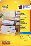 Avery Zweckform J8177-25 Address Labels 99.1 x 42.3 mm 25 Sheets with 300 Total Labels White