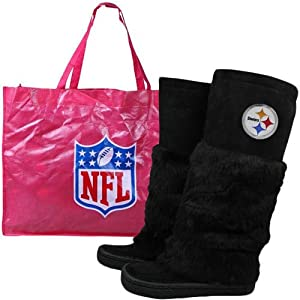 Cuce Shoes Pittsburgh Steelers Devotee Boots 10