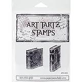 Paper Parachute ATS004 Book Set No.1 Art Tartz Cling Rubber Stamps, 3