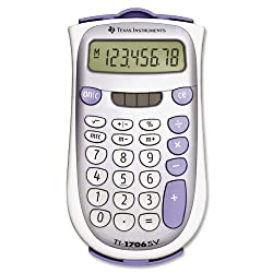 Texas Intruments TI-1706SV Handheld Pocket Calculator
