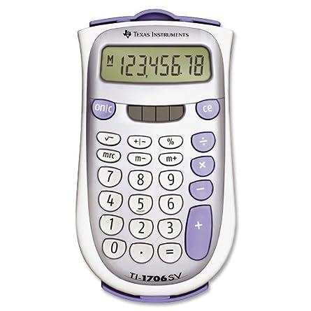 Texas Intruments TI-1706SV Handheld Pocket Calculator