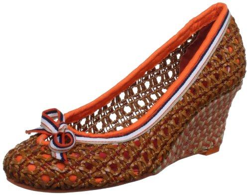 Poetic Licence Women's Wonder About Black Multi Wedges Heels 4113-1 5 UK, 38 EU