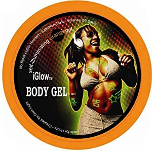 iGlow Body Gel - Orange