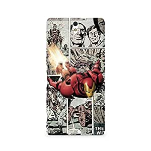 Ebby Iron Man Comic Premium Printed Case For Sony Xperia C5