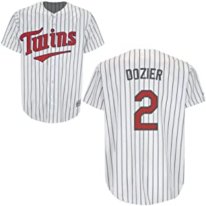 Brian Dozier Minnesota Twins Home Youth Replica Jersey by Majestic by Majestic