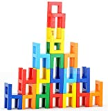 goki 椅子 パズル 積み木/ ドイツデザイン おしゃれ インテリア 知育玩具 人気 ブロック 木製おもちゃ バランス import ドミノ 幼児から大人まで楽しめます