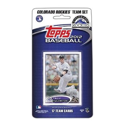 MLB Colorado Rockies 2012 Topps Team Set