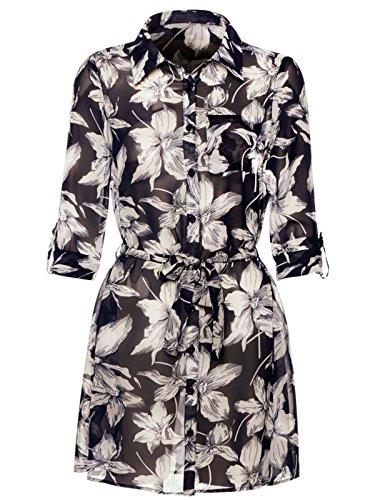 ladies-caris-navy-white-floral-patterned-collared-pocket-detail-belted-shirt-dress-10