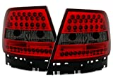 LED R�ckleuchten Set in Klarglas Rot Smoke