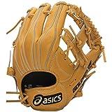 asics(アシックス) 野球 ジュニア軟式用グローブ(内野手用) ゴールドステージ BGJ5LS オレンジ/ホワイト LH