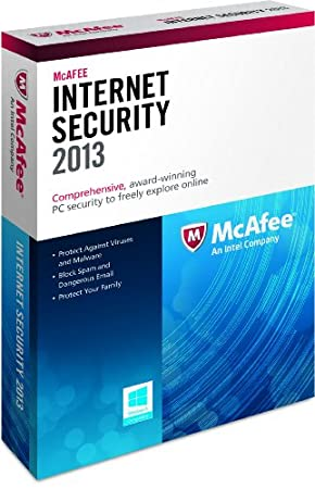 McAfee Internet Security 1PC 2013