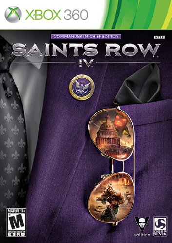 Saints Row IV – Xbox 360 (Commander in Chief Edition) $37.49