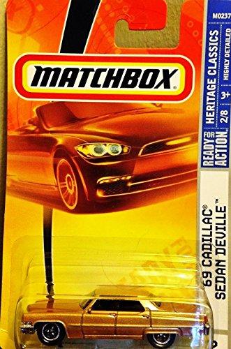 Matchbox Gold 69 1969 Cadillac Sedan Deville Heritage Classics 2 of 8 2007 (Cadillac Deville Gold compare prices)