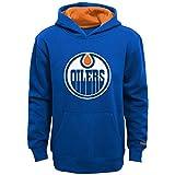 """NHL Edmonton Oilers Youth Boys 8-20 """"Prime"""" Basic Hoodie, Large, Dark Royal"""