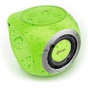 Mengo AquaCube, Waterproof Speaker [3W Ultra Clear Sound] Waterproof Portable Bluetooth (4.1) Speaker - Green...