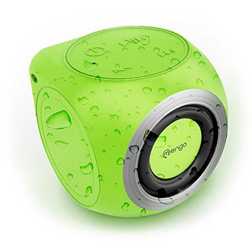 Buy Cheap Mengo AquaCube, Waterproof Speaker [3W Ultra Clear Sound] Waterproof Portable Bluetooth (4...