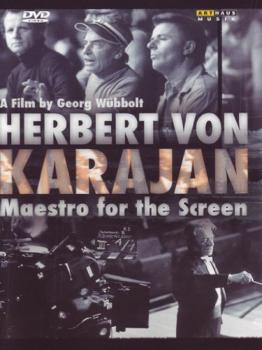 Cover art for  Herbert Von Karajan: Maestro for the Screen