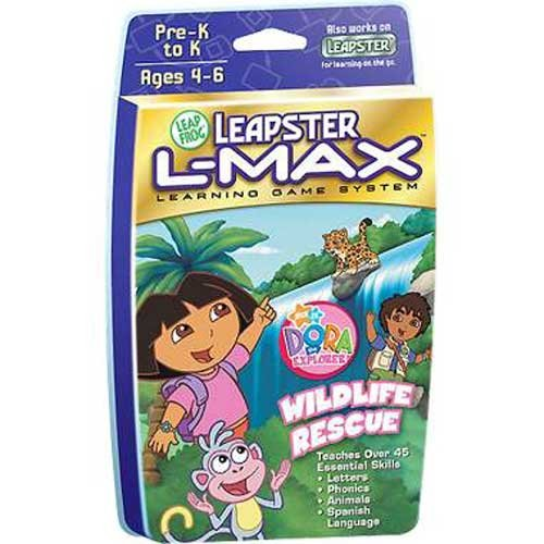 Leapster L-Max: Dora the Explorer Wild Life Rescue - 1