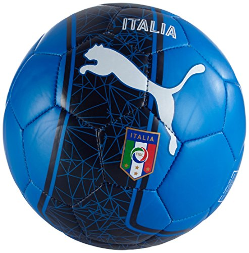 Pallone da calcio PUMA Country Fan Mini Balls con licenza, Team potenza Blue/bambino/White/Italy, 1, 082615 05