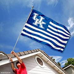 Buy Kentucky Wildcats UK Alumni Nation Stripes Flag by College Flags and Banners Co.