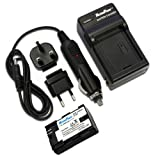 MaximalPower FC500 Travel Charger with Battery for Canon LP-E6, EOS 5D Mark II, 5D Mark III, 6D, 7D, 60D, 70D Cameras