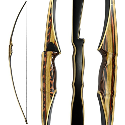 Scorpion Longbow by Southwest Archery USA |LIMITED TIME SALE| available with Stringer Tool | weights 25-60 lb | LEFT and RIGHT HANDED | ASSEMBLY INSTRUCTIONS INCLUDED | FREE GIFT | RH 40 W/ (Make Your Own Recurve Bow Kit)