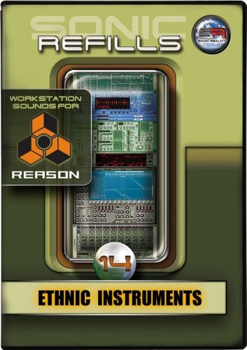Sonic Reality Sonic Refill for Reason Volume 14 - Ethnic Instruments, ¹