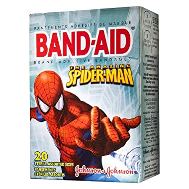 Product Image Johnson & Johnson Band-Aid Spider-Man Bandages - 20 Count